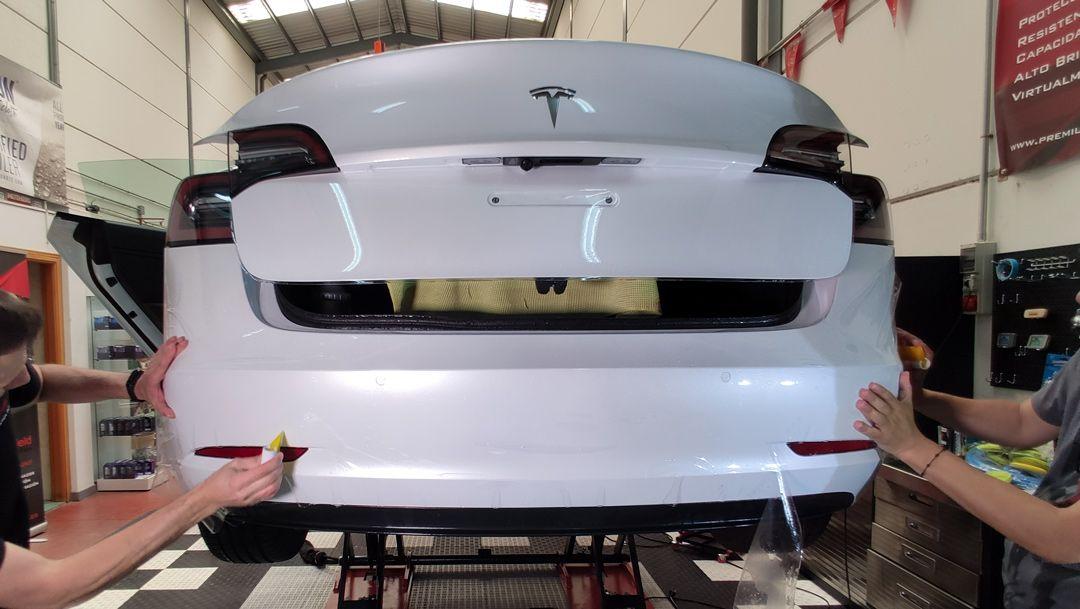 Instalação do PPF no novo Tesla Model 3