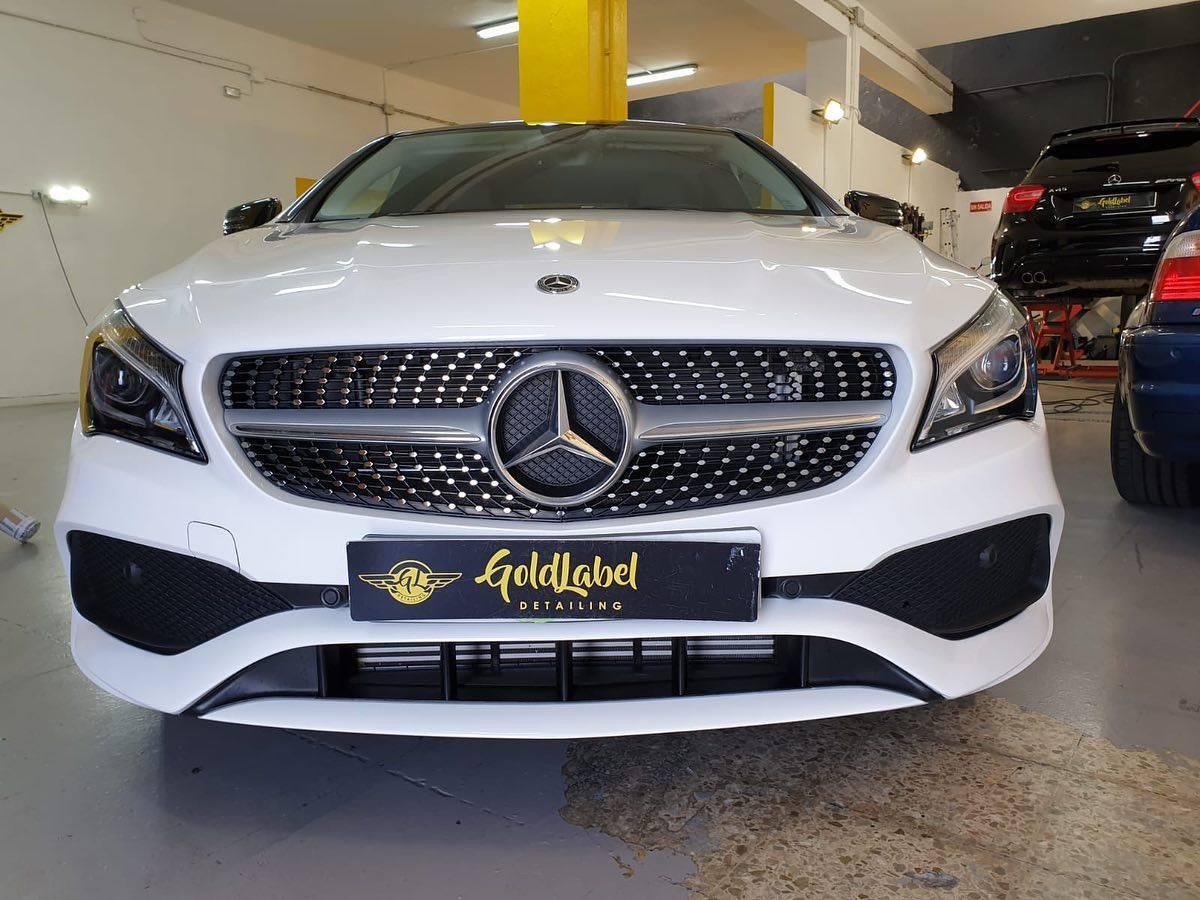 Instalação de PPF na Mercedes CLA